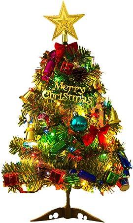 45cm STOBOK Sapin de Noel Artificiel Petit Sapin de Noel avec Decoration et Ornements de Base pour Les Vacances en Hiver