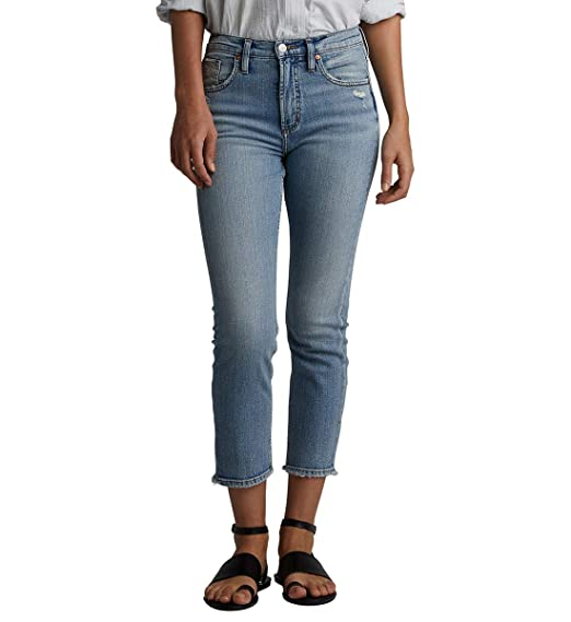 dc6f619d78 Amazon.com: Silver Jeans Co. Women's Frisco Vintage High Rise ...