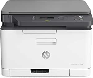 HP Color Laser MFP 178nw - Impresora láser multifunción, color, Wi-Fi, Ethernet (4ZB96A)