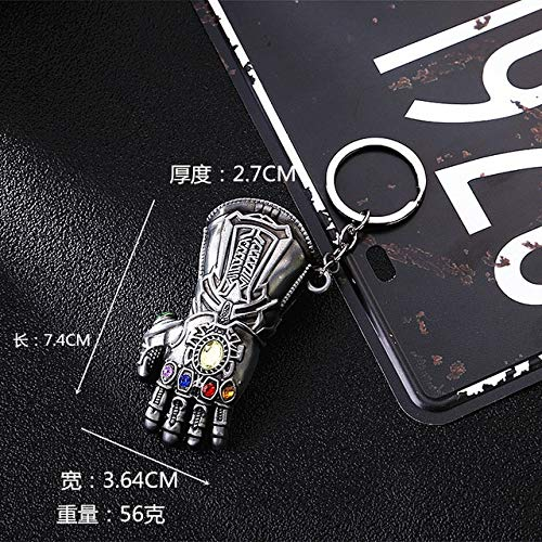 RAMZS Eng Game Metal Keychain Man Shield Mask Bag Keyrings Key Holder Toys -Multicolor Complete Series Merchandise -