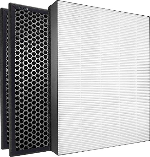 Philips Air NanoProtect Annual True HEPA and Active Carbon Filter Replacement Set Purifier Series 2000 and ()