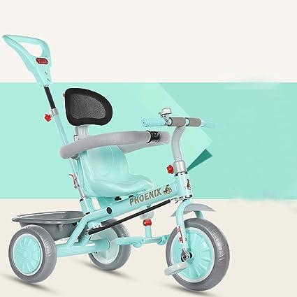 ZXUE Triciclo para Niños Bicicleta 1-5 Años Cochecito de bebé Carritos de bebé Niños
