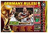 2014 fifa world cup ball - PosterWarehouse2017 GERMANY CAPTURES 2014 FIFA WORLD CUP SOCCER POSTER