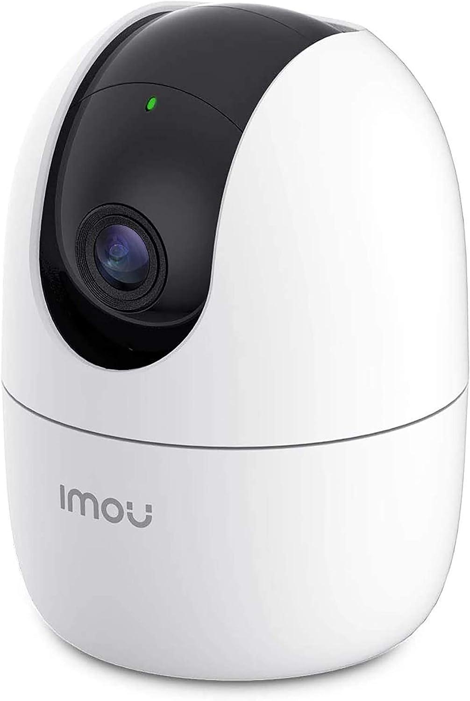 Imou Cámara de Vigilancia WiFi Interior 1080P, Cámara IP WiFi 1080P, Cámara Domo PTZ, Sirena de Seguridad, Detección de Sonidos Extraños, Modo de Privacidad, Rastreo Inteligente
