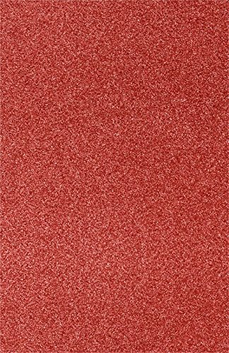 11 x 17 Cardstock - Holiday Red Sparkle (250 Qty.) | Perfect for the Holidays, Crafting, Invitations, Scrapbooking and so much more! |1117-C-MS08-250 by Envelopes.com