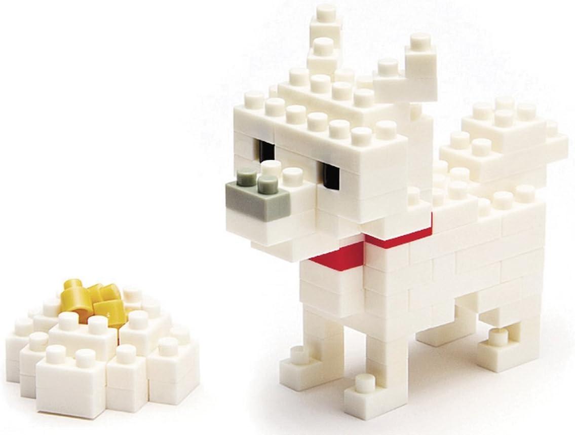 Nano Block Micro-Sized Building Blocks NBC-005 *NEW* NANOBLOCK Hokkaido Dog