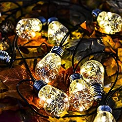Outdoor String LightsSolarmks 15 LED Globe Solar Powered Patio Lights Waterproof Christmas Decoration ... & Seasonal Lighting | Home-Living-Store.com azcodes.com