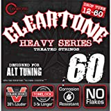 Cleartone Electric .012-.060 Drop C Strings