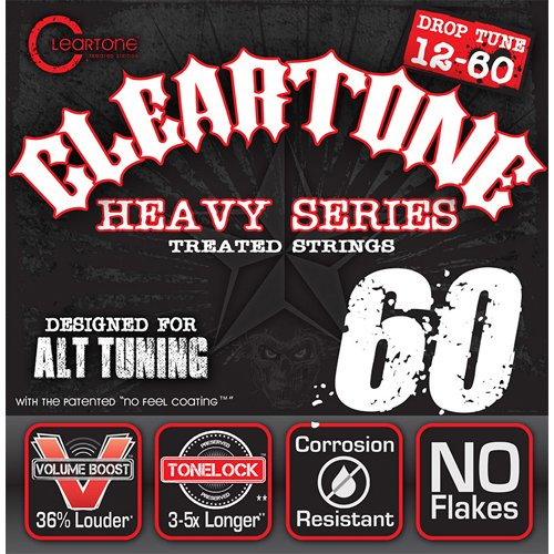 Cleartone Electric .012-.060 Drop C Strings by Cleartone Strings
