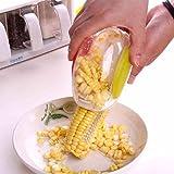 Magic New Magic Corn Remover Kitchen Tool With Steel Blades Corn Peeler Corn Remover ,Multicolor