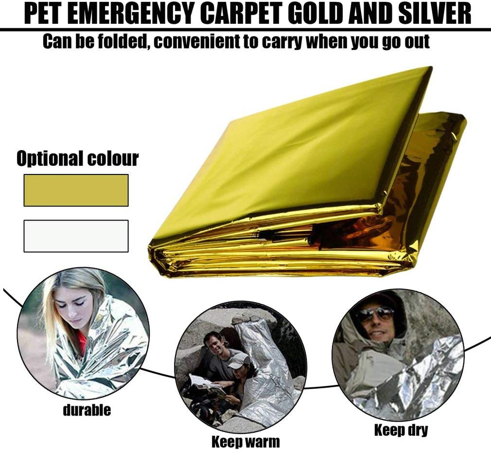 Leoboone Couverture de Sauvetage durgence en Pet pour ext/érieur
