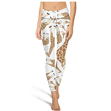 cd7f8d934c5de Animal Giraffe Pattern Women Yoga Pants Printed Leggings Legging at ...