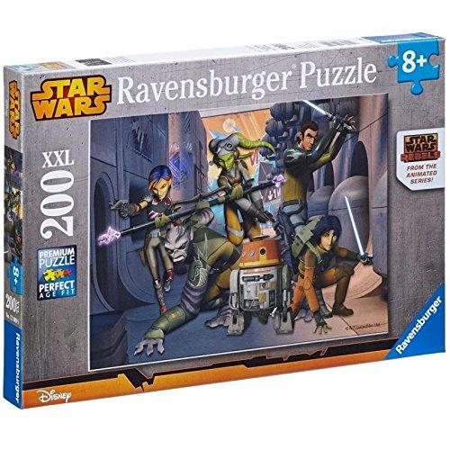 Ravensburger - 12809 - Puzzle Enfant Classique  - Star Wars Rebels - La Rébellion Commence - 200 Pièces XXL