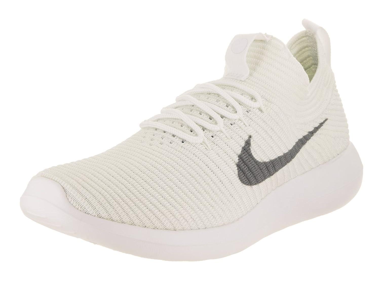sale retailer 4ad90 404e4 Nike Women's Roshe Two Flyknit V2 White/Wolf Grey White White Running Shoe  9.5 Women US