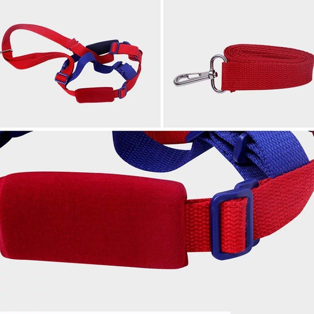 Blue/&Red 2 in 1 Kids Walking Safety Harness Wrist Link Safety Harnesses Baby Anti-Loss Belt Strap and Hand Belt for Children of 0-5 Years Wrist Leash Children/'s Safety