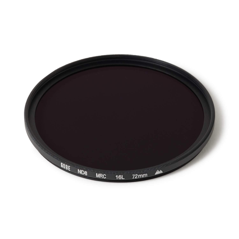 Gobe - Filtro para Objetivo ND 72 mm ND8 (3 Pasos) (2Peak)