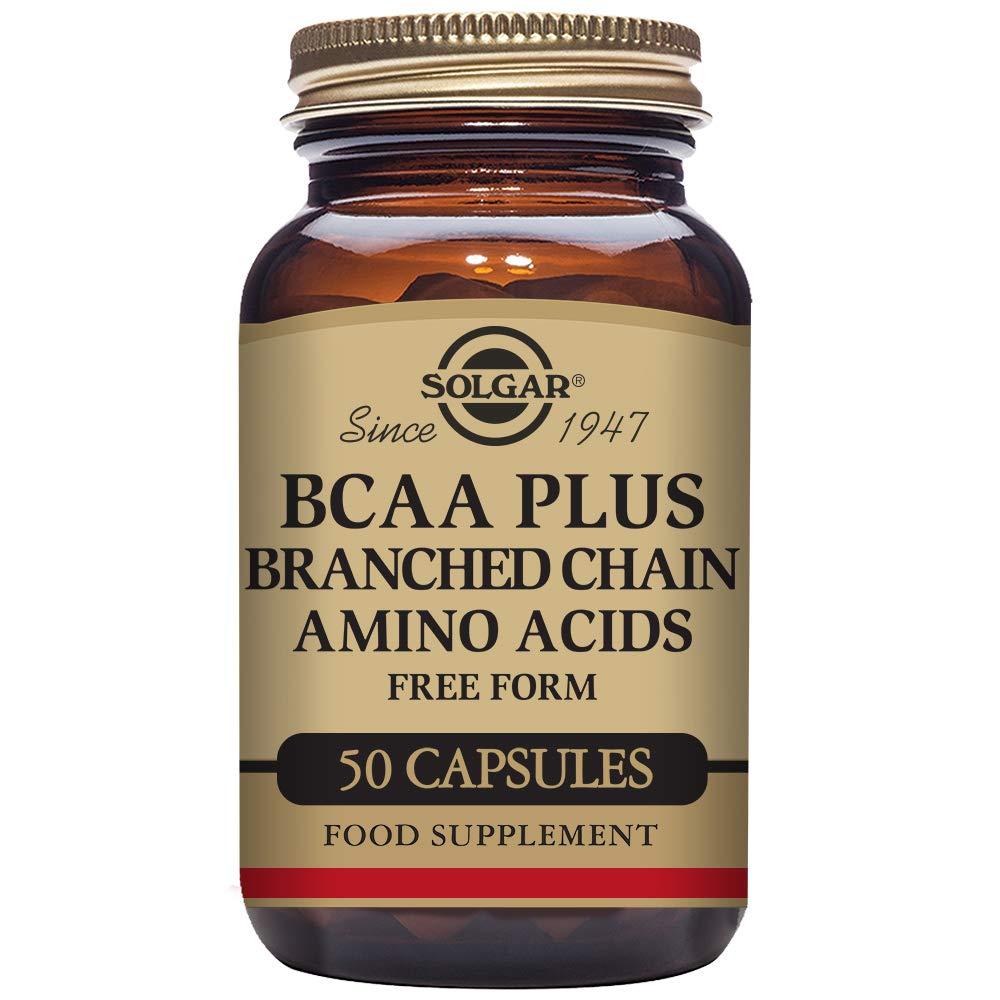 Solgar BCAA Plus Cápsulas vegetales - Envase de 50