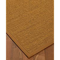 NaturalAreaRugs Sorrento Sisal Area Rug 6 by 9 Sienna Border