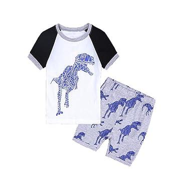 2018 New Autumn Baby Boys Clothes Long-sleeved Cartoon Elephant T-shirt+pants Newborn Toddler Cotton Suit Infant Clothing Set Boys' Baby Clothing