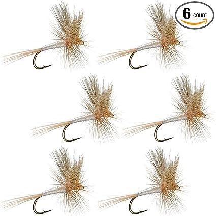 Dry Flies 4 Light Cahill Fishing Flies Trout Flies 18 Sizes 14 16 20