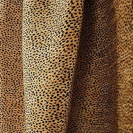 Amazon Com Siamese Black Tan Leopard Cheetah Upholstery Fabric