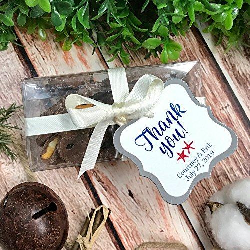 Starfish Tag - Thank You! Starfish Ocean Theme Wedding/Event/Celebration Favor Tags (FS-551-SAF)