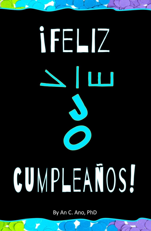Feliz Cumpleaños! Blank Journal & Gag Book (Spanish Edition ...