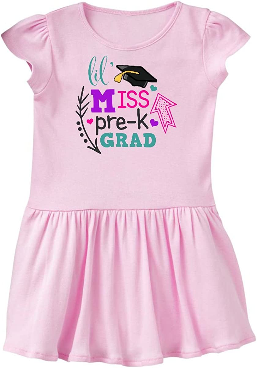 inktastic Lil Miss Kinder Grad with Arrows Toddler T-Shirt