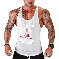 Camiseta Deportiva de Tirantes para Hombre Sin Manga