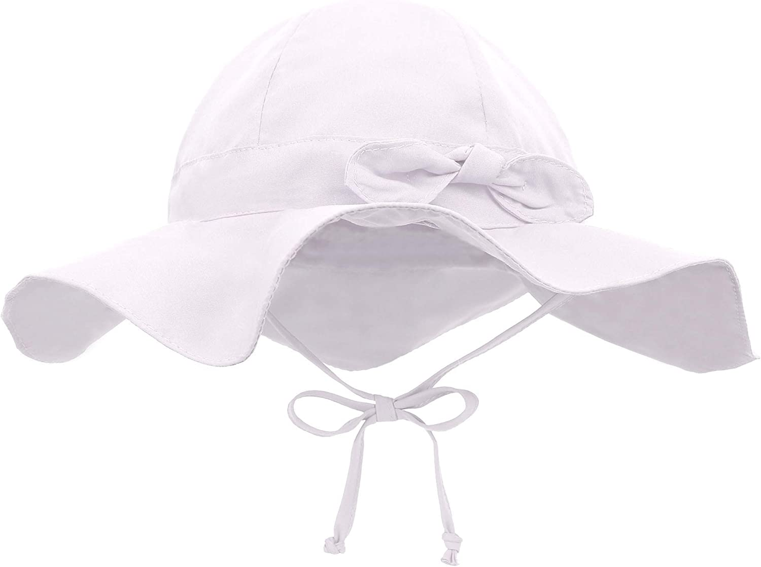 Siero Baby Sun Hat with UPF 50 Outdoor Adjustable Beach Hat with Wide Brim