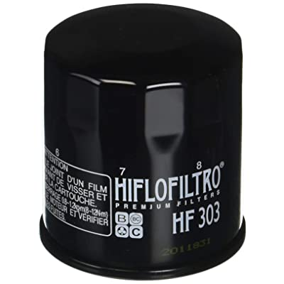 HIFLO FILTRO HF303 Black Premium Oil Filter: Automotive