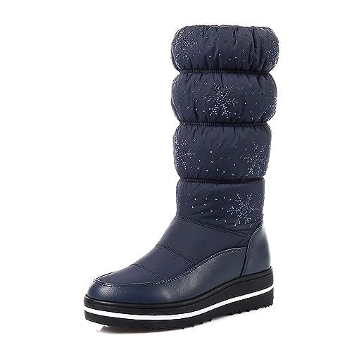 Damen Orktree Schneestiefel Stiefel Kurz Winterstiefel Stiefeletten Schlupfstiefel Wasserdicht Schuhe OPkwXNn80Z