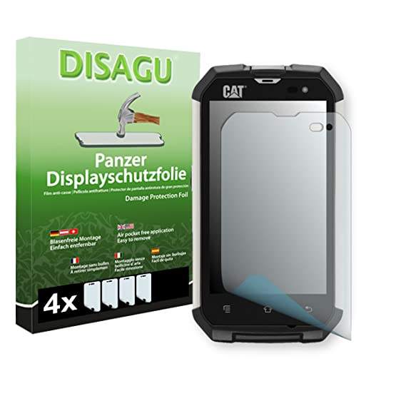Amazon.com: DISAGU 4 x Armor screen protector for Cat B15Q ...