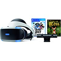 Paquete PlayStation VR (Virtual Reality + Astro Bot + Moss + Cámara) - PlayStation 4 - Bundle Edition