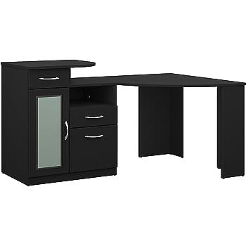 Amazon Com Bush Furniture Cabot Corner Desk In Espresso