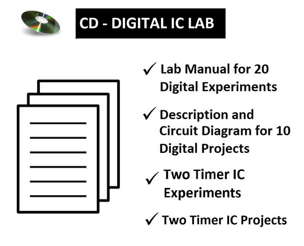 Cd Digital Ic Lab Perform Experiments Build Projects Epk080 Operation Of Monostable Multivibrator Mode 555 Timer Software