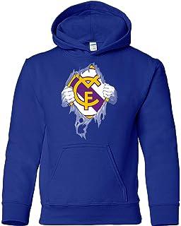 Sudadera Real Madrid en el Corazón Camisetas del Real Madrid Merengues