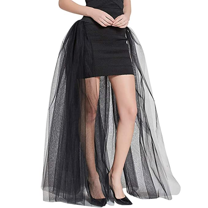 0ebe69eb56231 NREALY Skirt Womens Solid Mesh Tulle Skirt Princess Skirt Mesh Bubble Skirt  Party Skirt(one