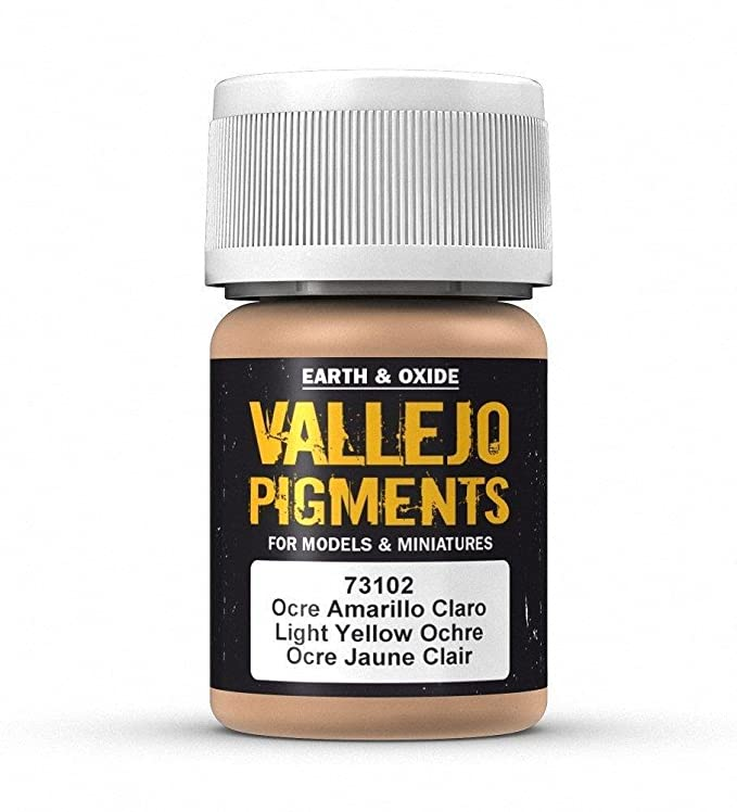 Vallejo Pigments - Light Yellow Ocre - VAL73102