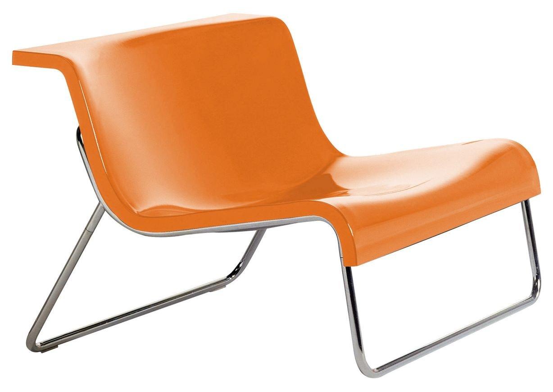 Kartell Form Sessel, anthrazit Kunststoff