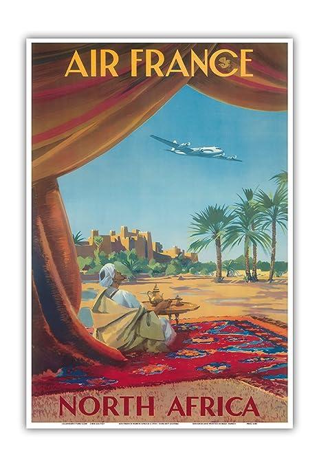 Pacifica Island Art Norte de África-Desierto del Sahara-Air ...