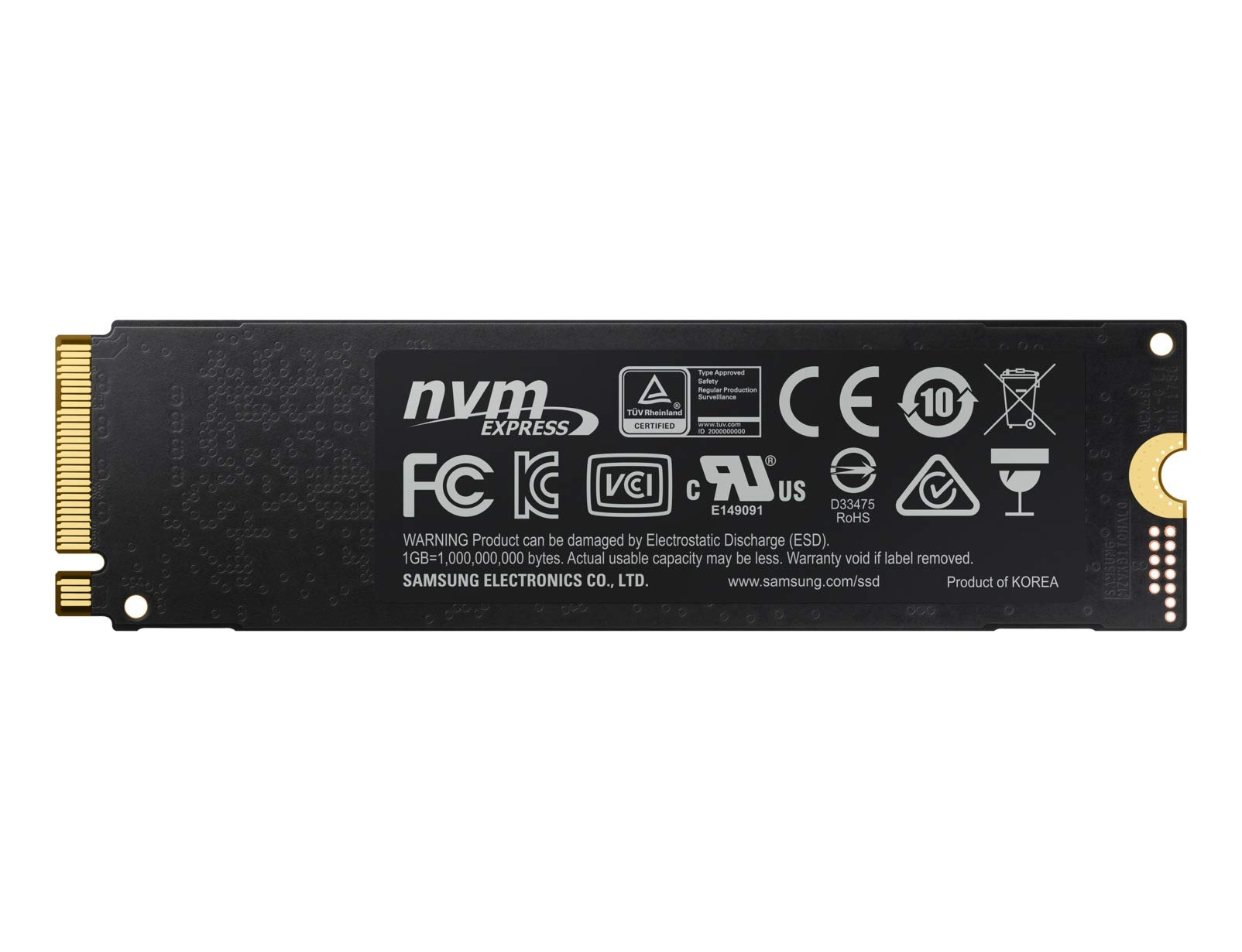 Samsung 1TB 970 EVO NVMe M2 Solid State Drive by Samsung (Image #2)