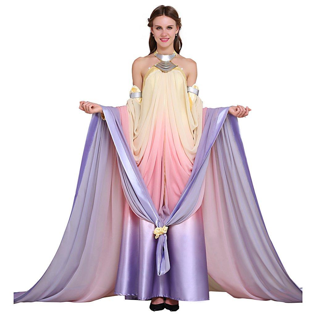 Amazon.com: CosplayDiy Women\'s Dress for Star Wars Queen Padme ...