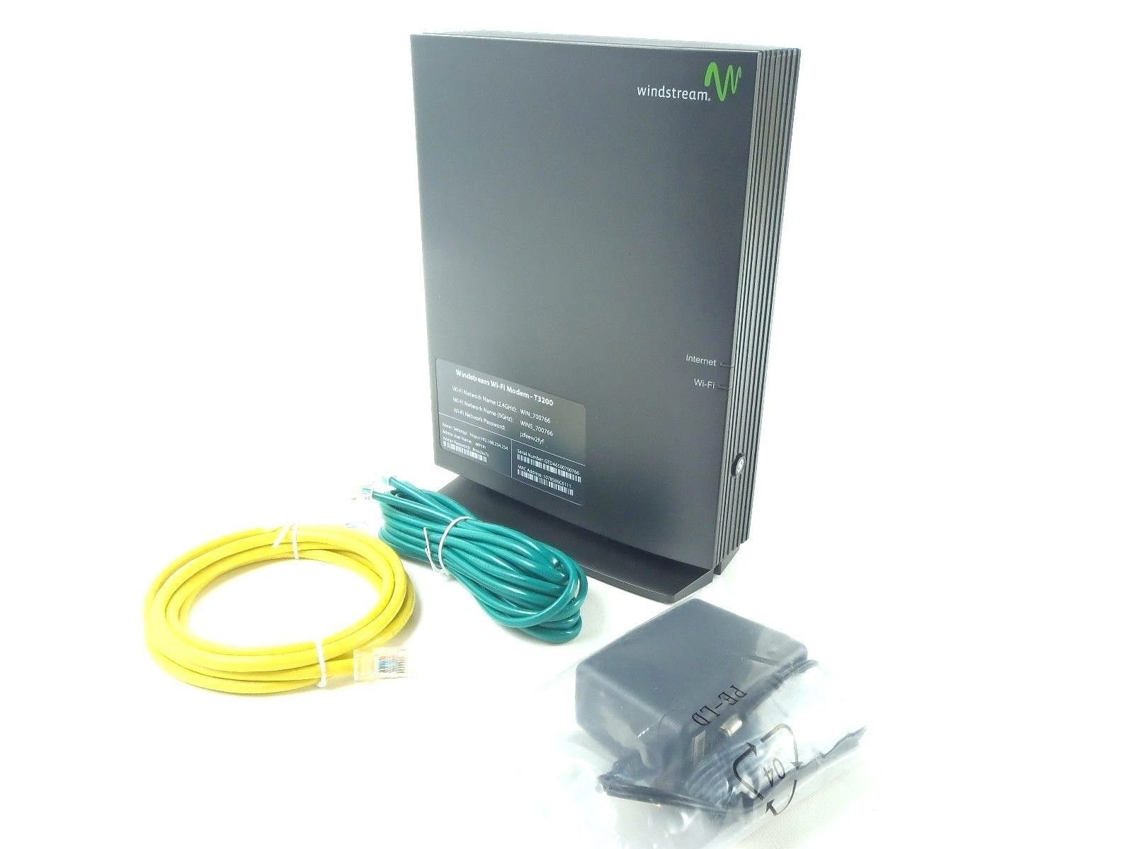 Windstream Actiontec T3200 xDSL Wi-Fi Premium Wireless Router/Modem 1GIG by WINDSTREAM
