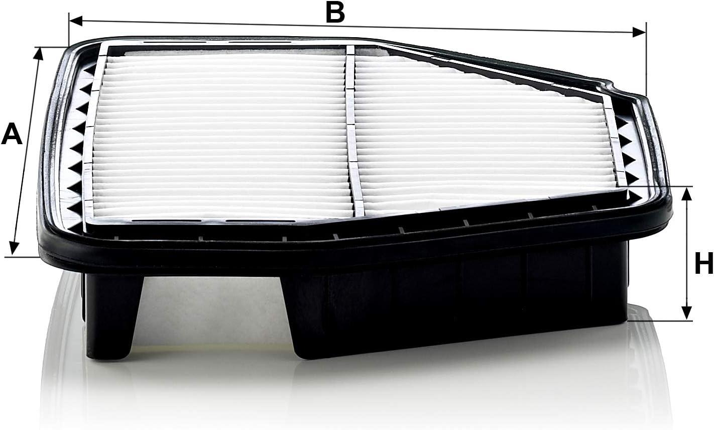 Original Mann Filter Luftfilter C 29 008 Für Pkw Auto