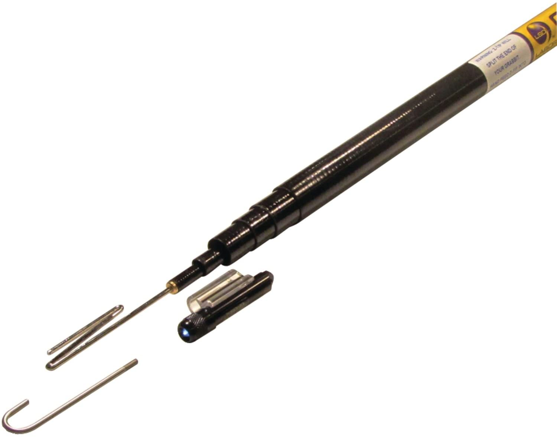 Labor Saving Devices 82-110 Grabbit Mini Telescoping Pole w// Z-Tip /& J-Tip 10ft