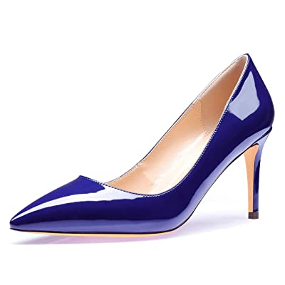 CASTAMERE High Heels Womens Pointed Toe Slip-on Pumps 8.5CM Heels | Pumps