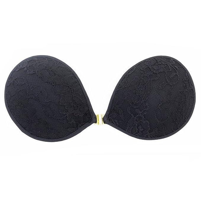 Para mujer sujetador push-up sujetador Invisible sujetador sin tirantes adhesiva por Kuzun: Amazon.es: Ropa y accesorios