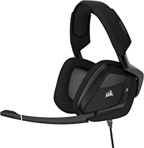 Corsair Void RGB Elite USB Premium Gaming Headset with 7.1 Surround Sound, Carbon