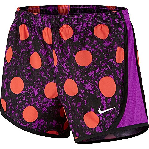 Nike 3.5 Girls Tempo Running Shorts (LG (14 Big Kids), Vivid Purple/Vivid purple)